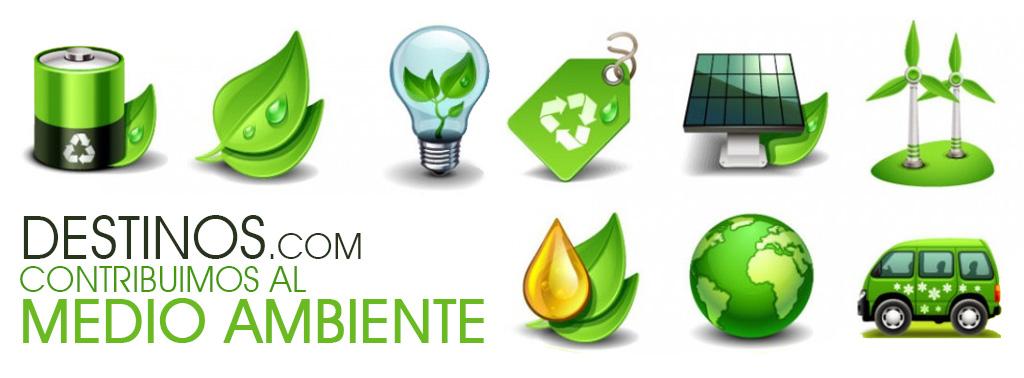 Contribuimos al medio ambiente